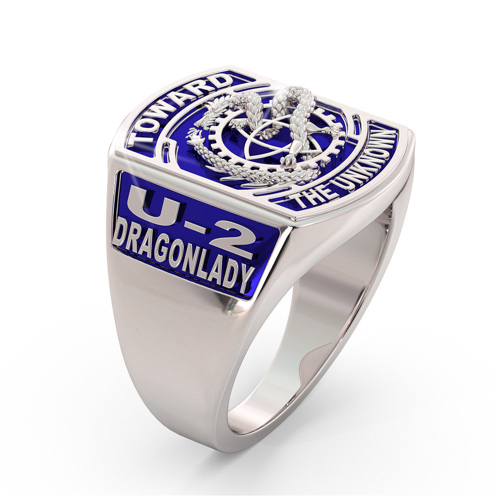 U-2 Dragon Lady Ring - Limited Edition BLUE