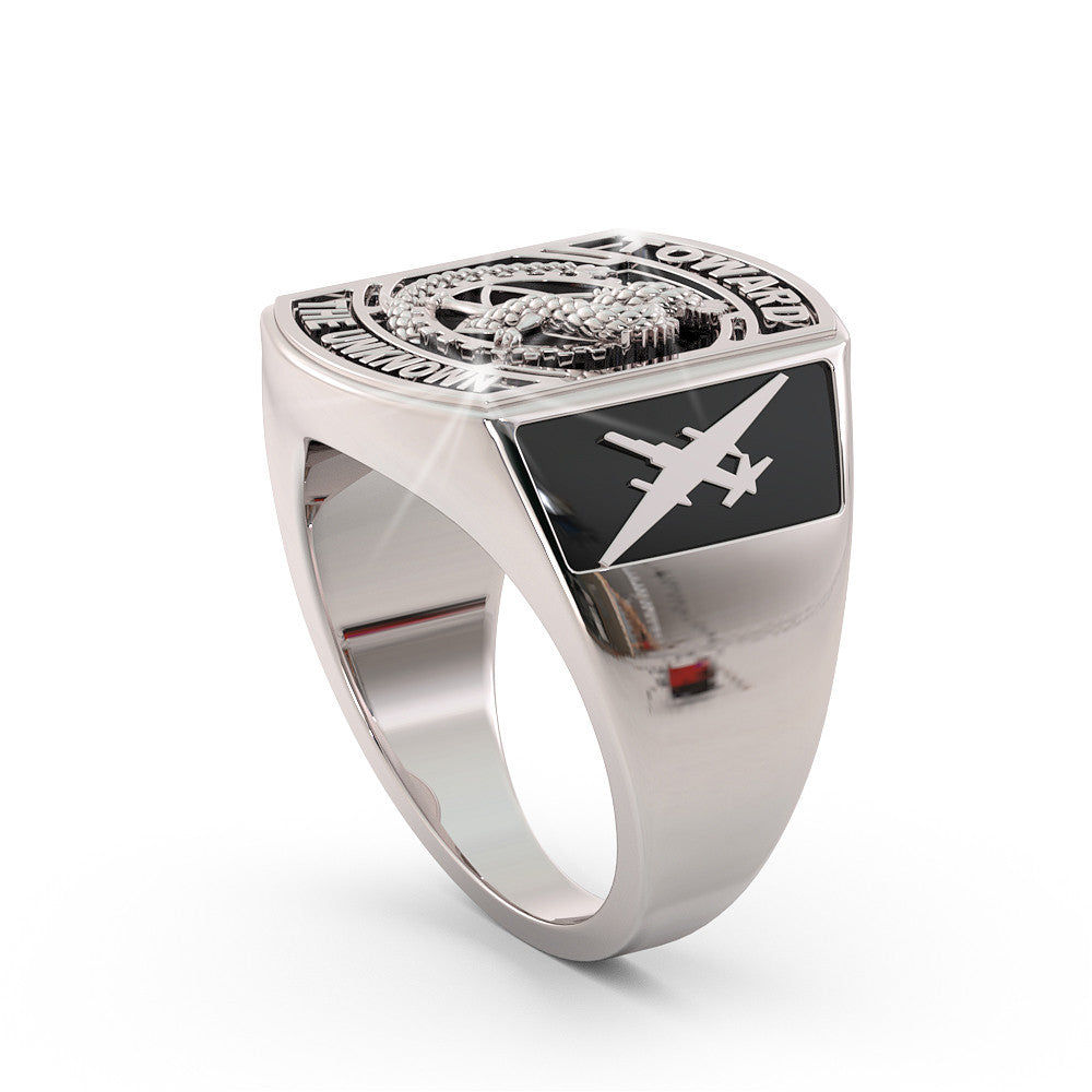 U-2 Dragon Lady Ring - Limited Edition BLACK