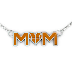 Basketball Love MOM (.925 silver)