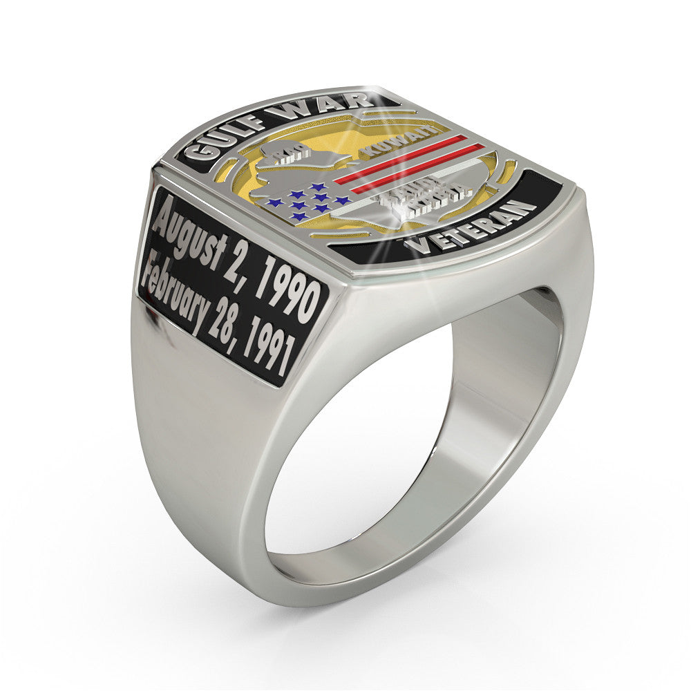 Gulf War Veteran Ring - Limited Edition