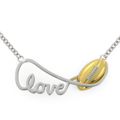 Infinite Football Love (.925 silver)