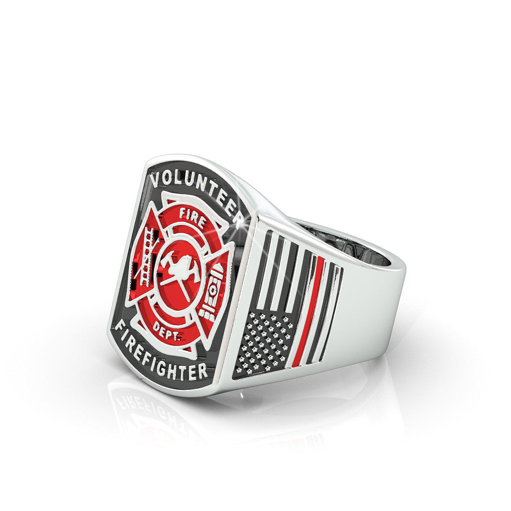 Volunteer Fire Department Ring - Limited Edition