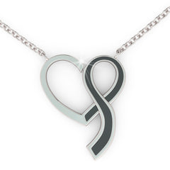 AWARENESS PENDANT (.925 silver)