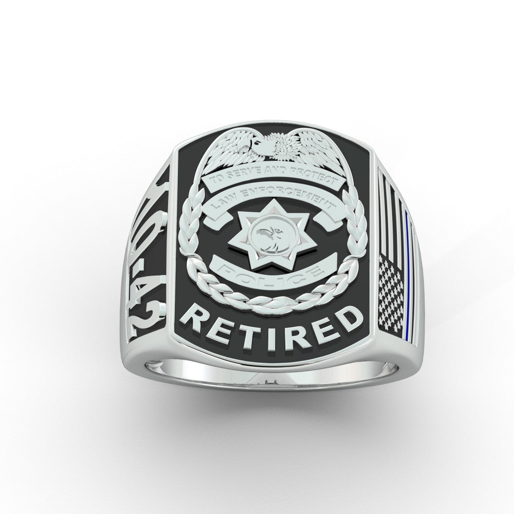 Retired Police Ring - Limited Edition
