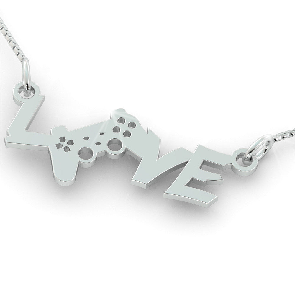 Playstation LOVE Gaming Pendant (.925 silver)