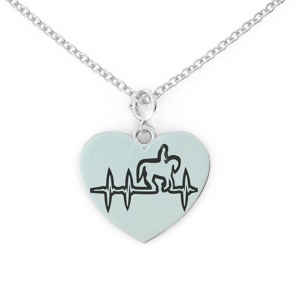Horse - heartbeat * Necklace *