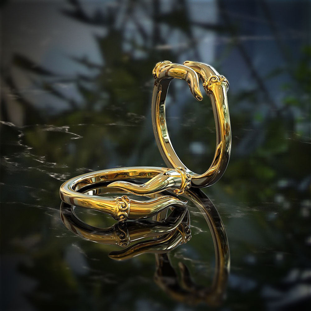 Italian Horn Ring - Protect Against Malocchio