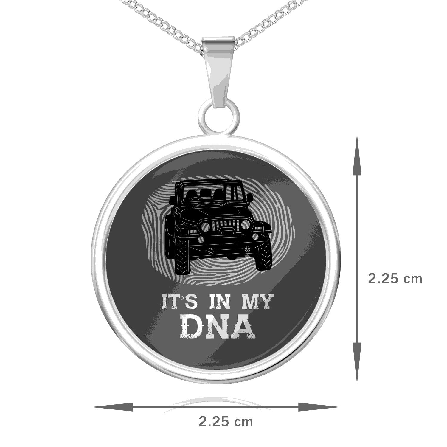 It's In My DNA Pendant