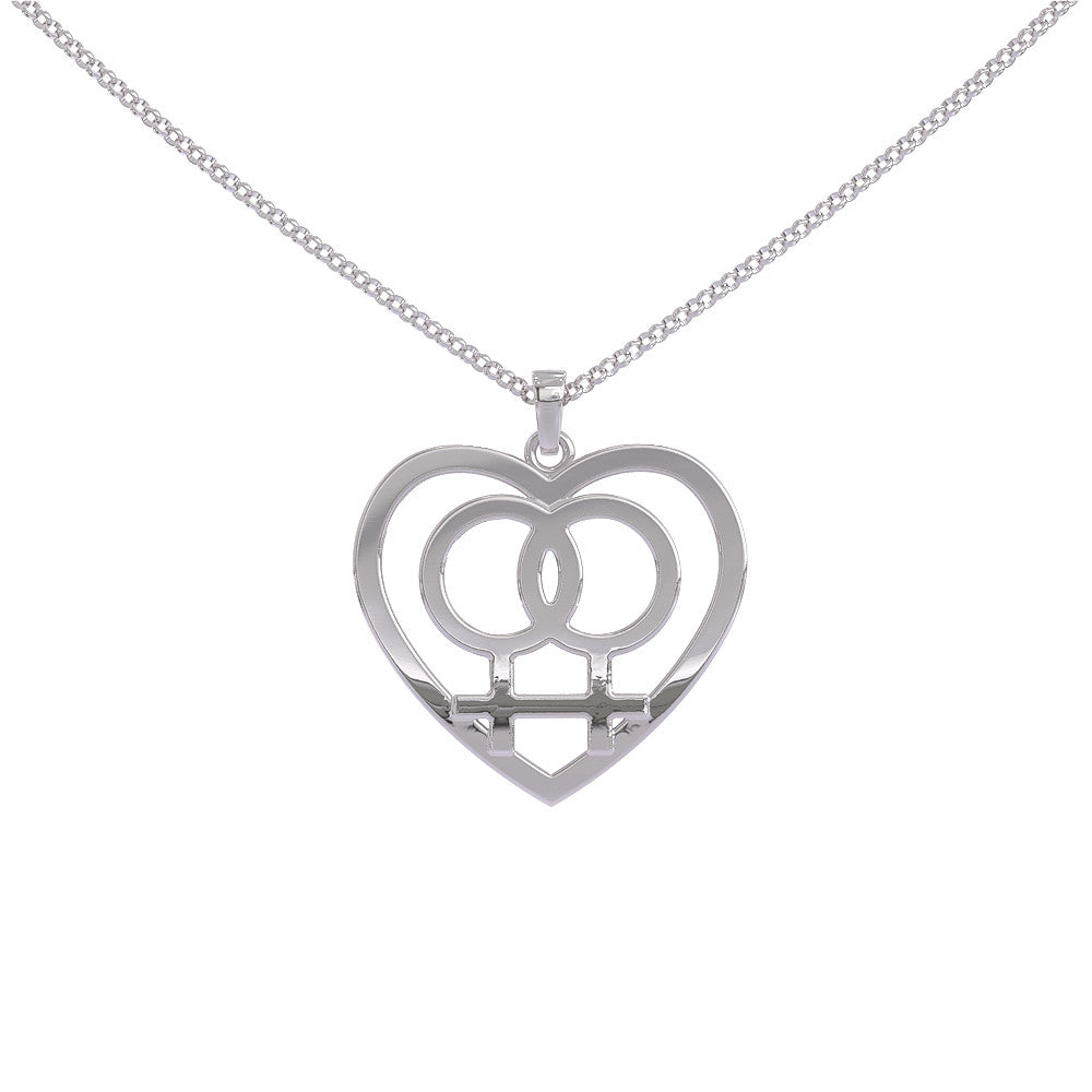 Subtle Lesbian Pendant - STRICTLY LIMITED EDITION