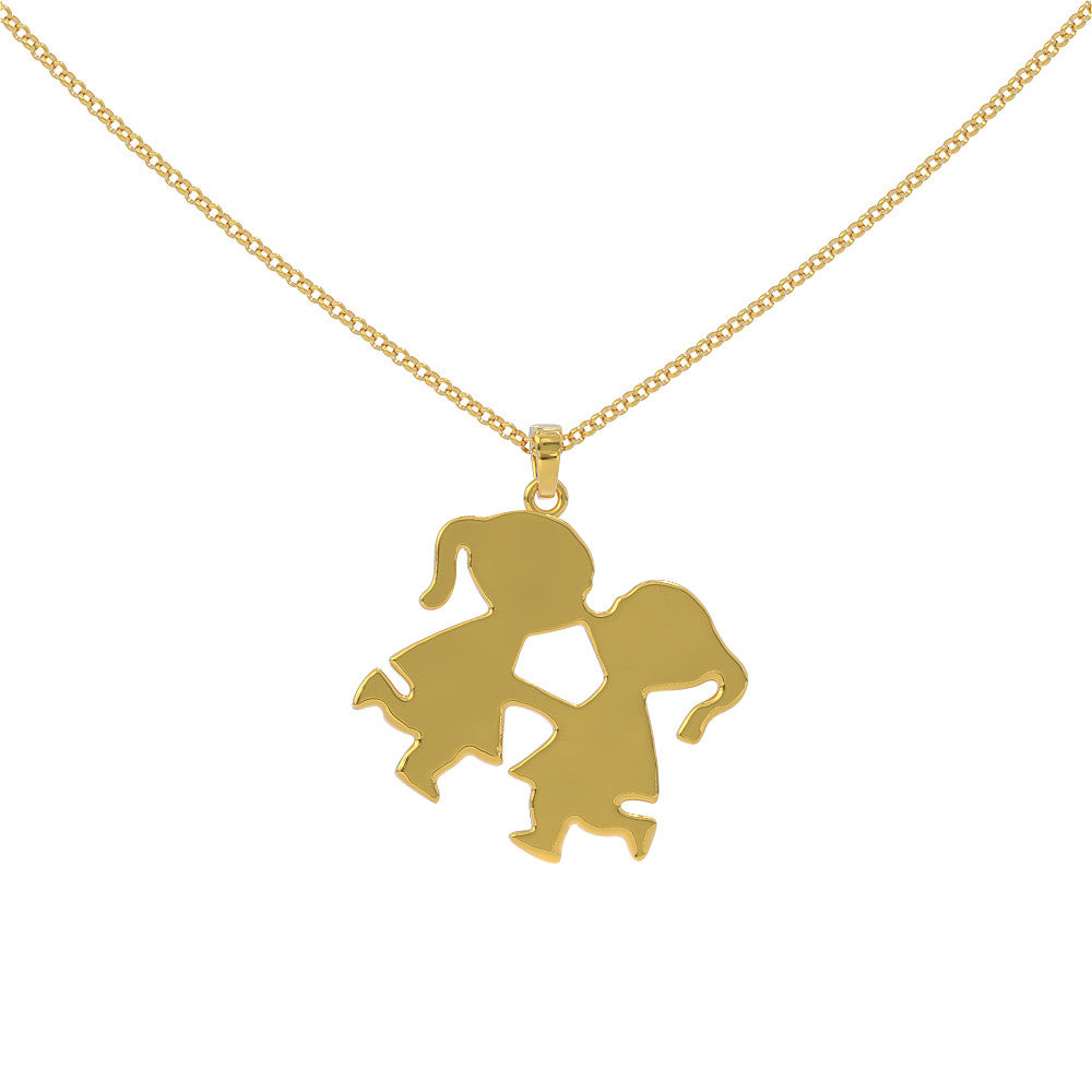 Two Girls Kissing Pendant - STRICTLY LIMITED EDITION