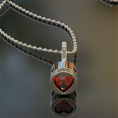 Piston Heart Birthstone Pendant STRICTLY LIMITED EDITION