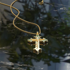 Hunters Cross Necklace