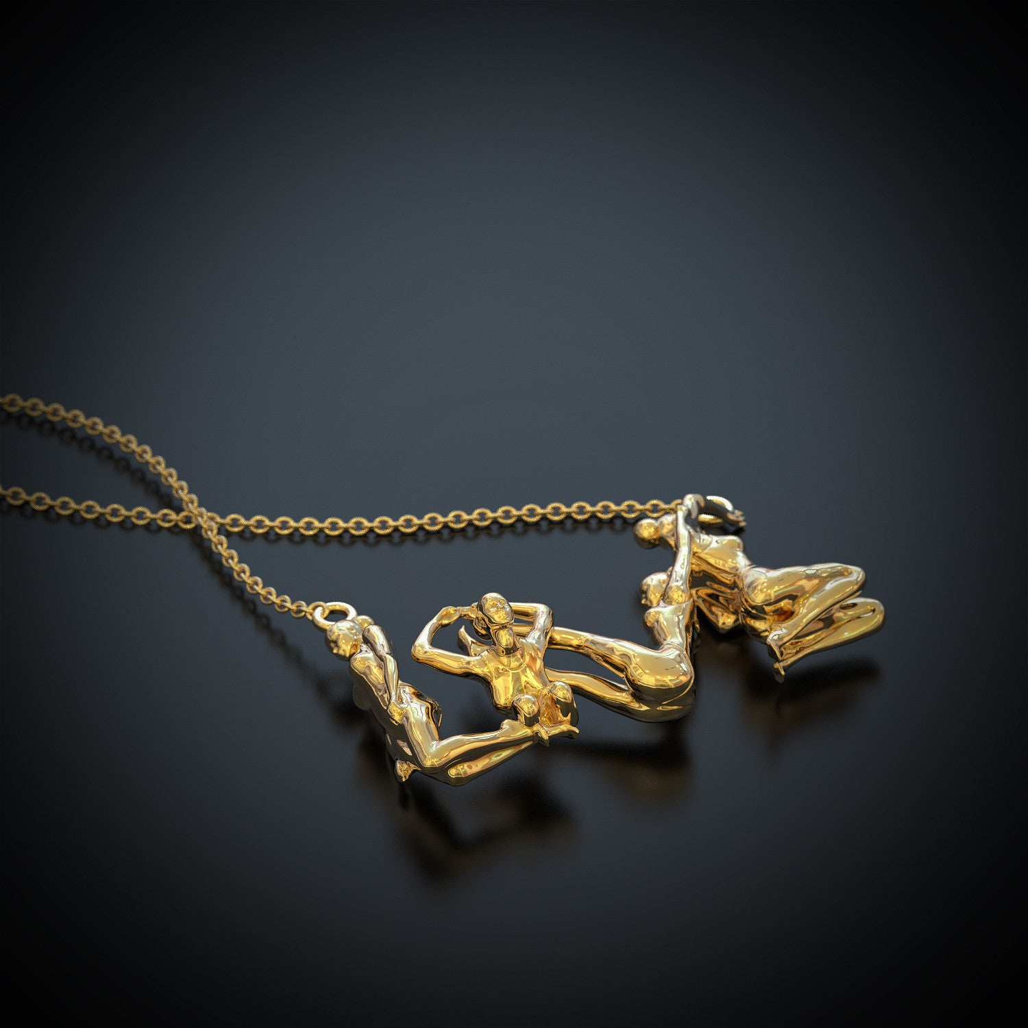 LOVE - Gymnastics Necklace - LIMITED EDITION