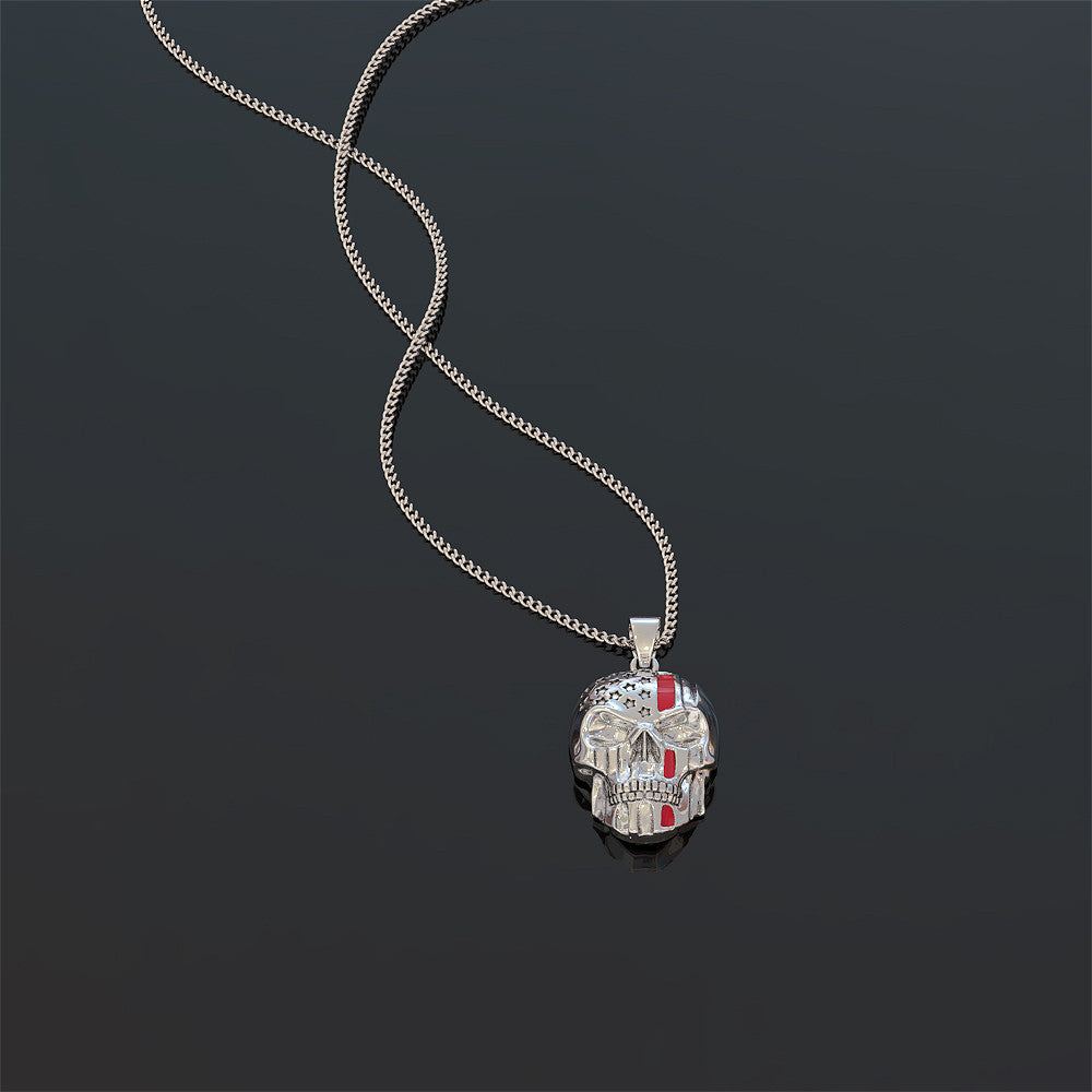 Limited Edition Skull Pendant Necklace