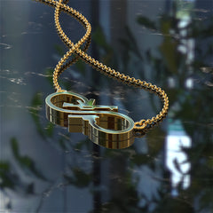 Gun Infinity Necklace