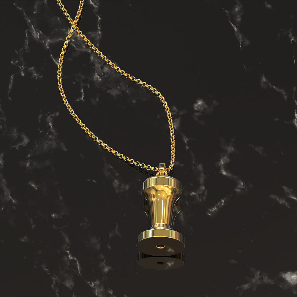 Coffee Tamp Pendant