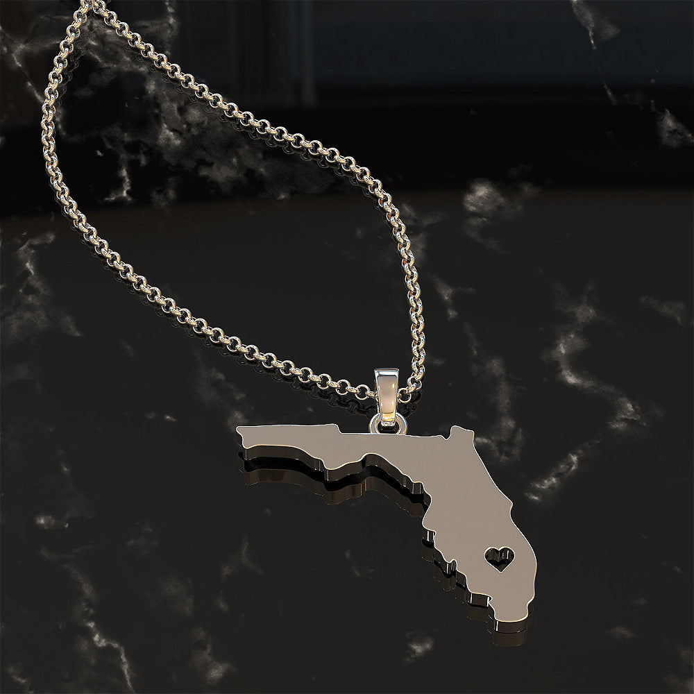 State Of Florida Necklace