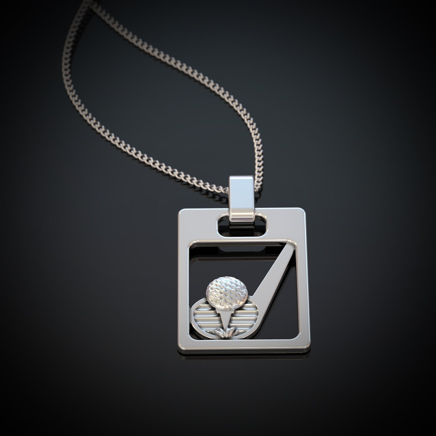 Golf pendant shineon golf pendant aloadofball Choice Image