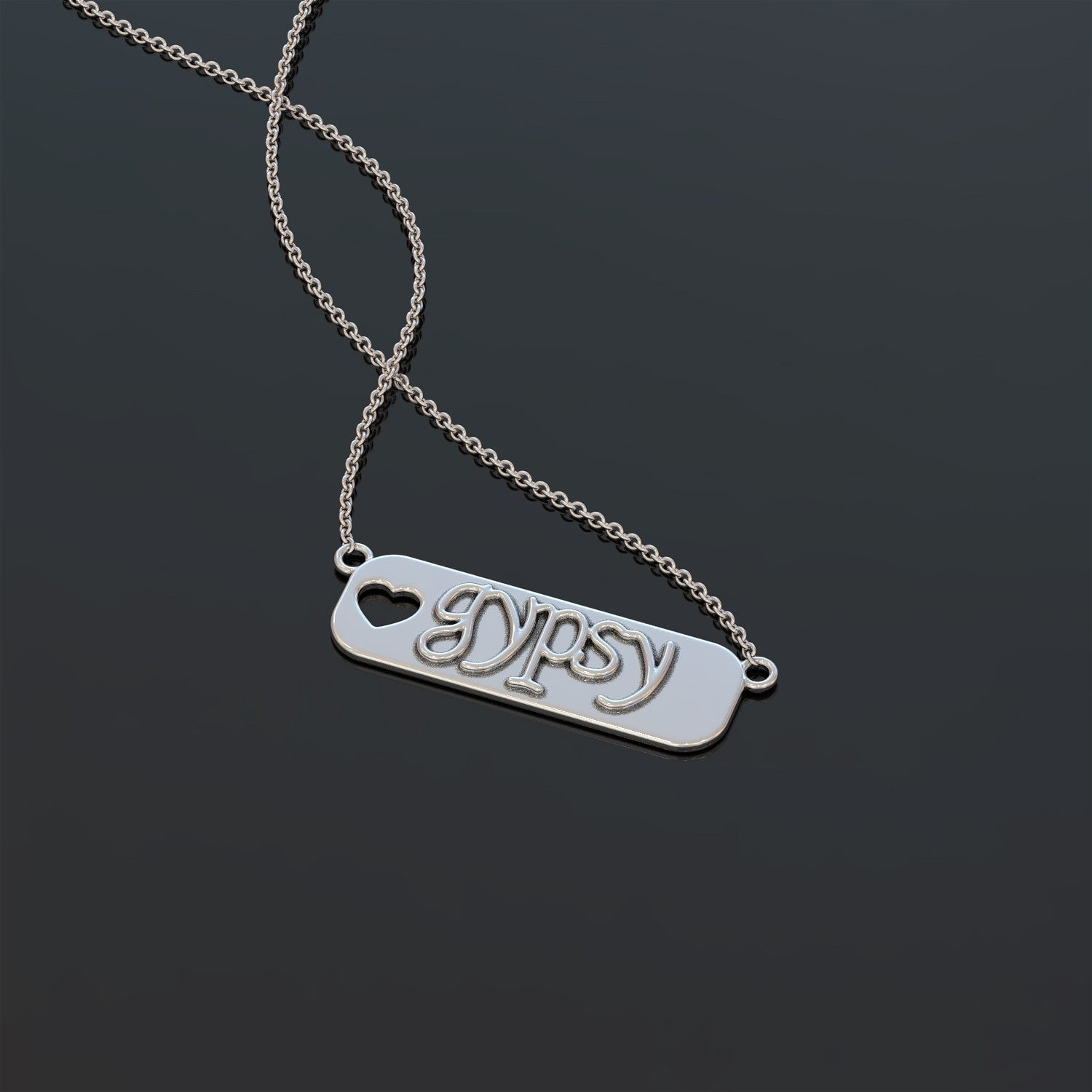 Gypsy Bar Necklace