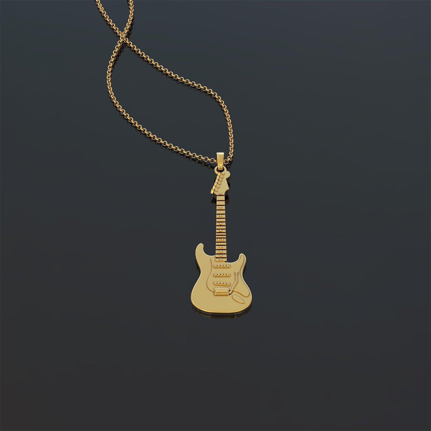 Stratocaster Necklace