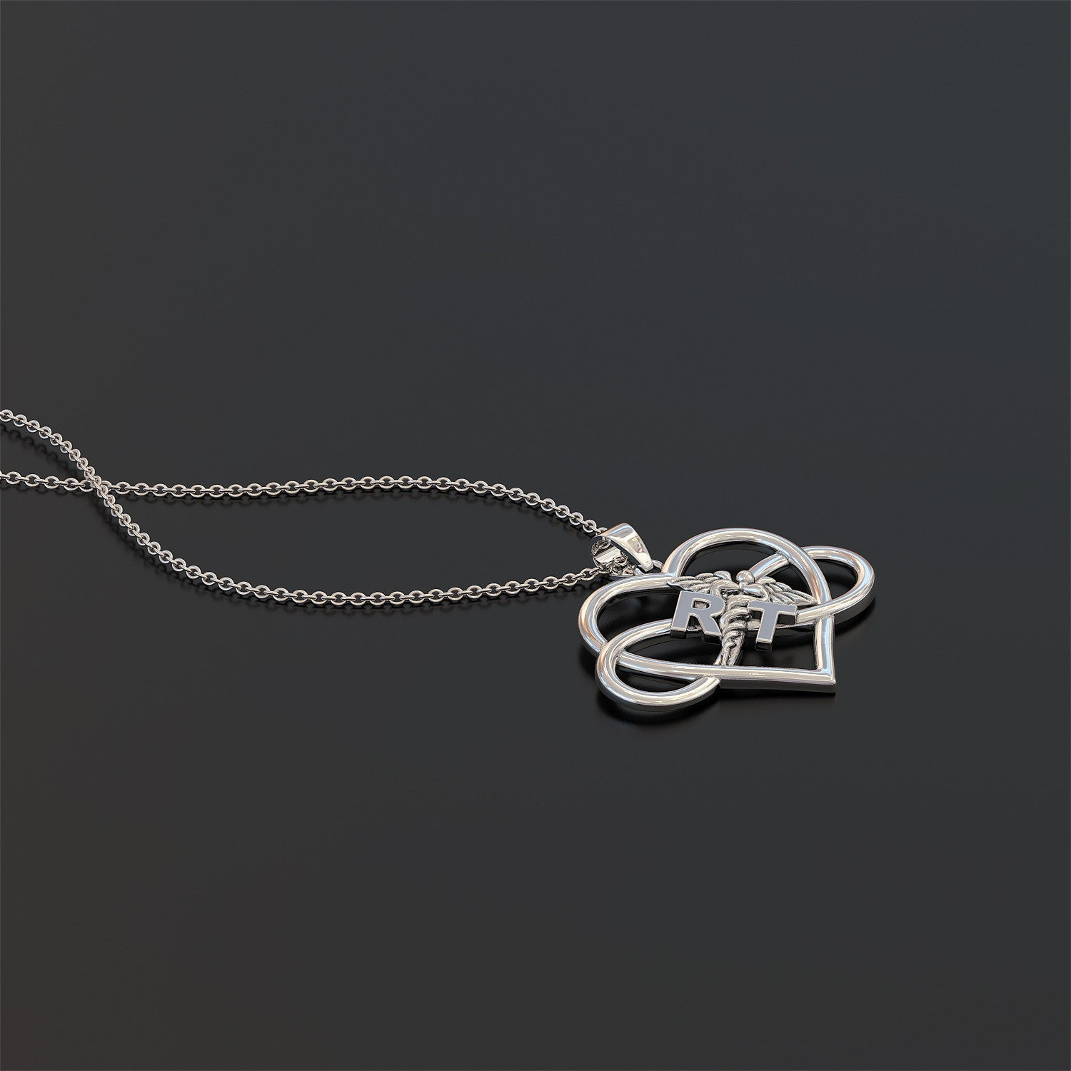 RT Heart Infinity Necklace / Bracelet