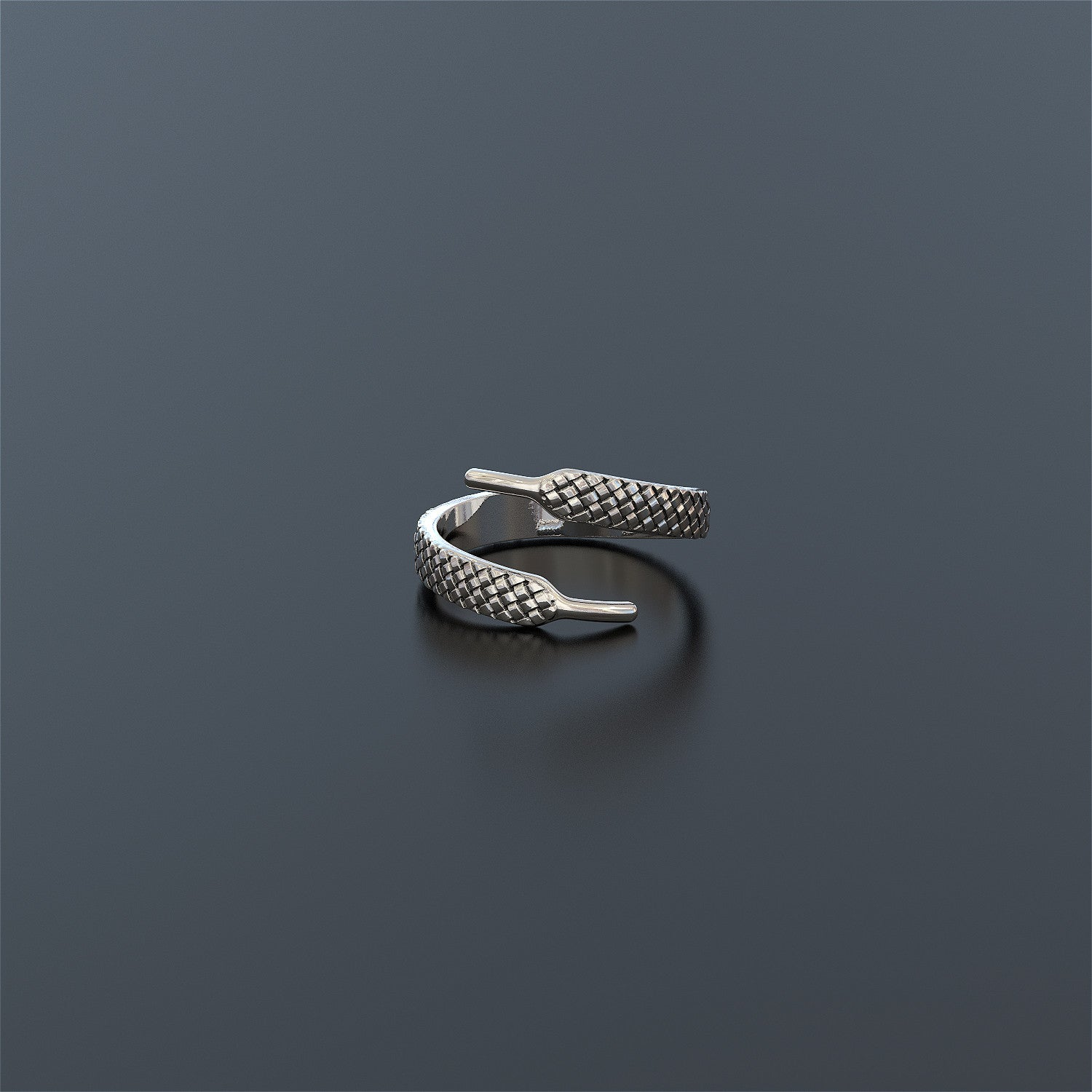 Shoe Lace Ring - VERY LIMITED NUMBERS