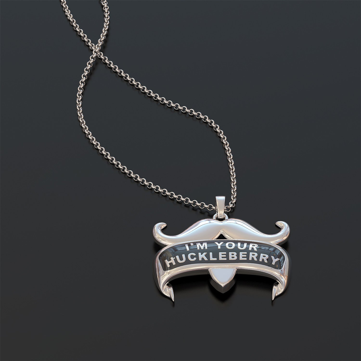 I'm Your Huckleberry - Sterling Silve Necklace and Pendant