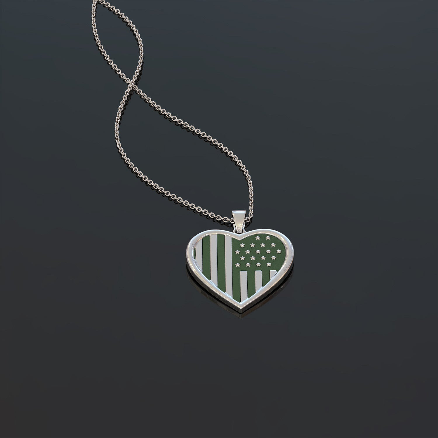 Army Mom Pendant Necklace