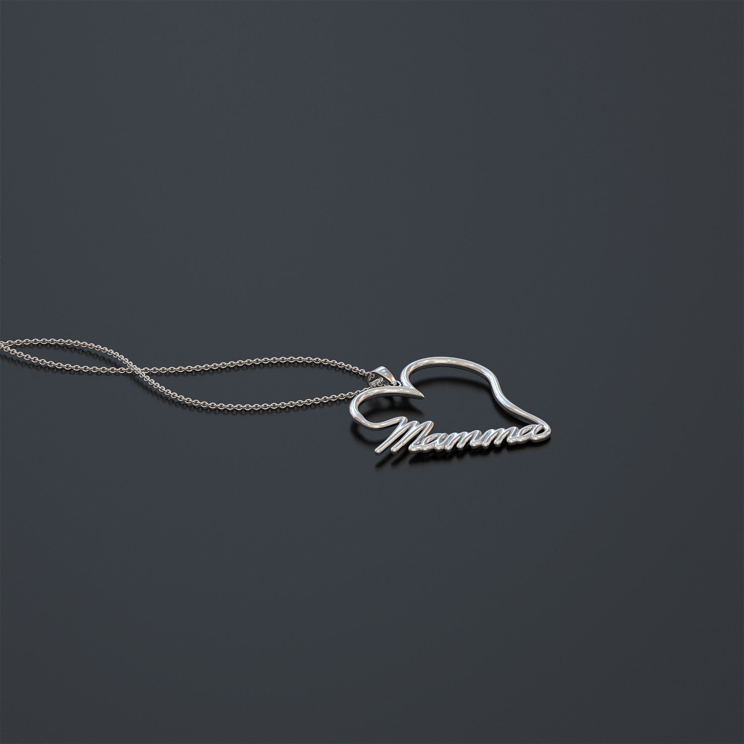 Mamma Heart Necklace