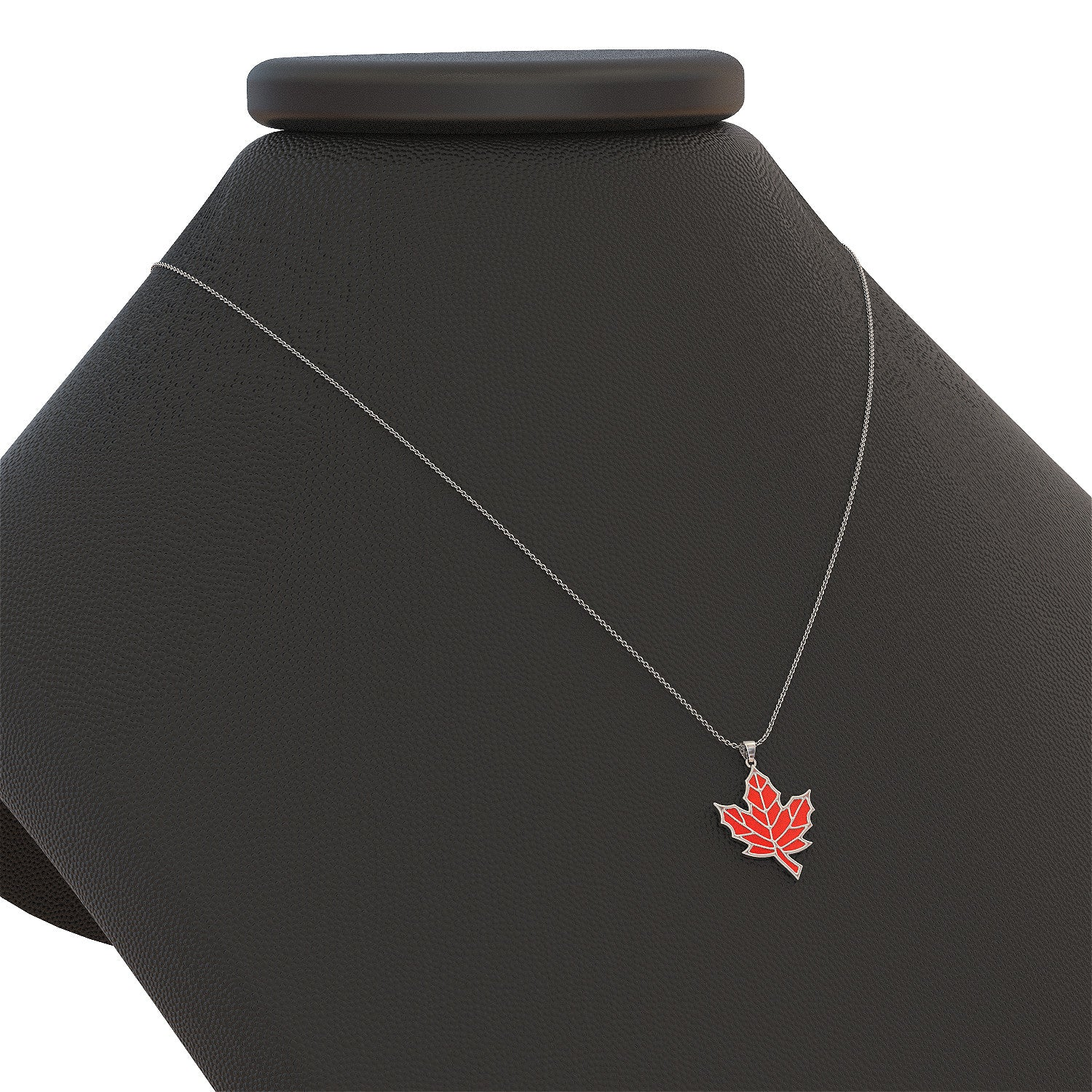 hMaple Leaf Necklace