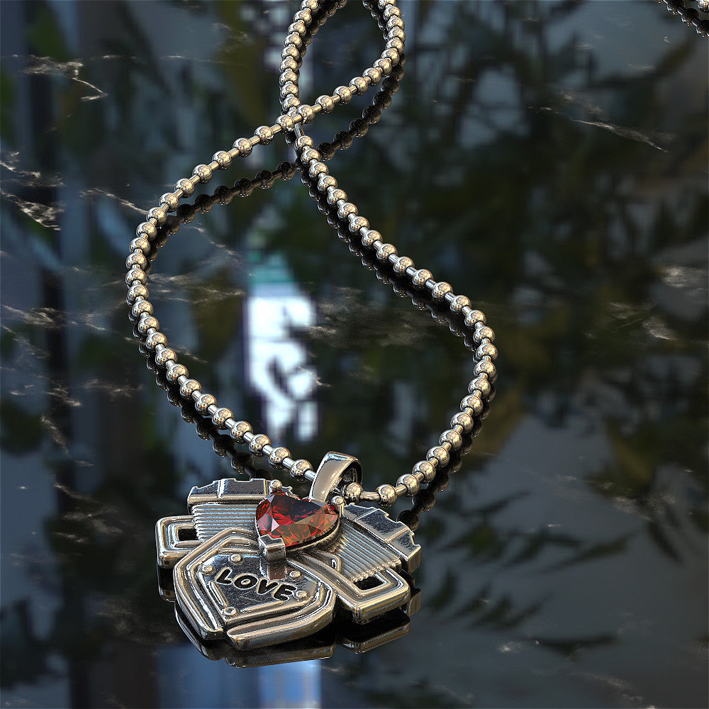 V Twin Engine Necklace - STRICTLY LIMITED EDITION