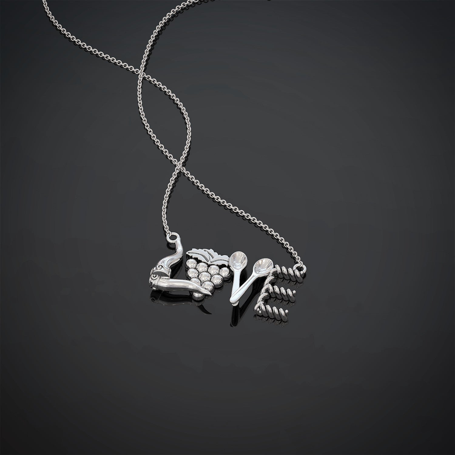 Love Italian Necklace