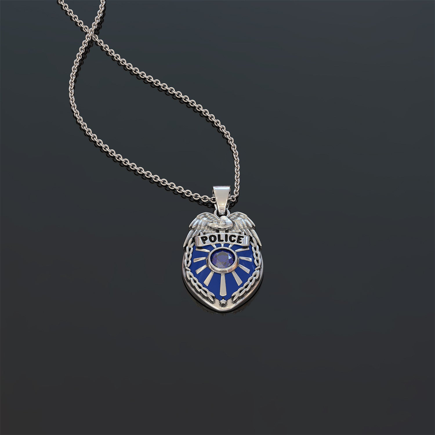 Friends of Officers Necklace