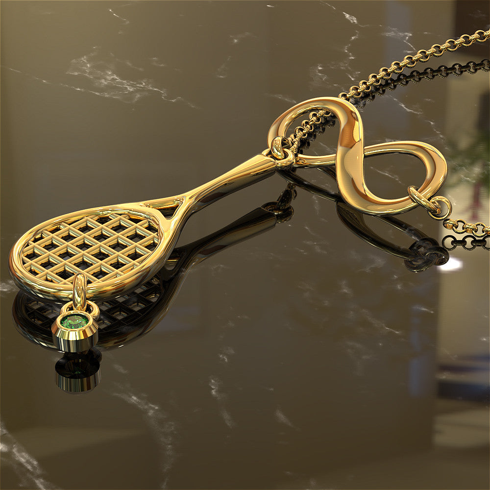 Infinity Tennis Necklace