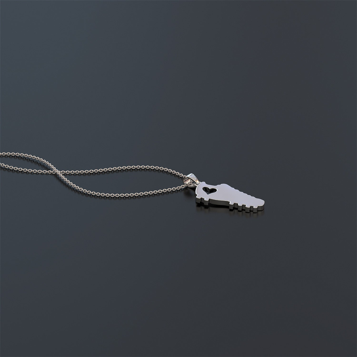 Soccer Cleat Necklace