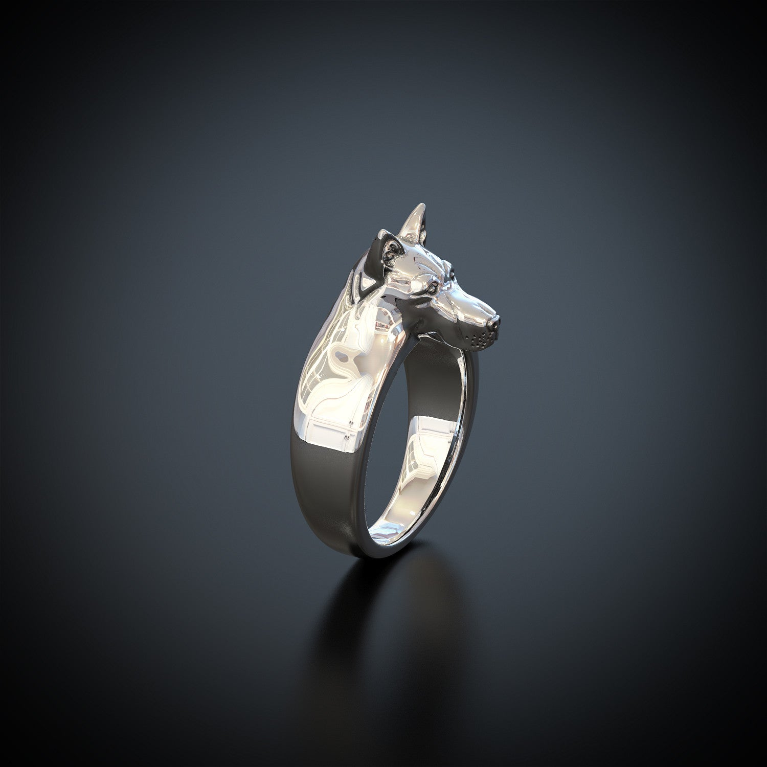 German Shepherd Ring
