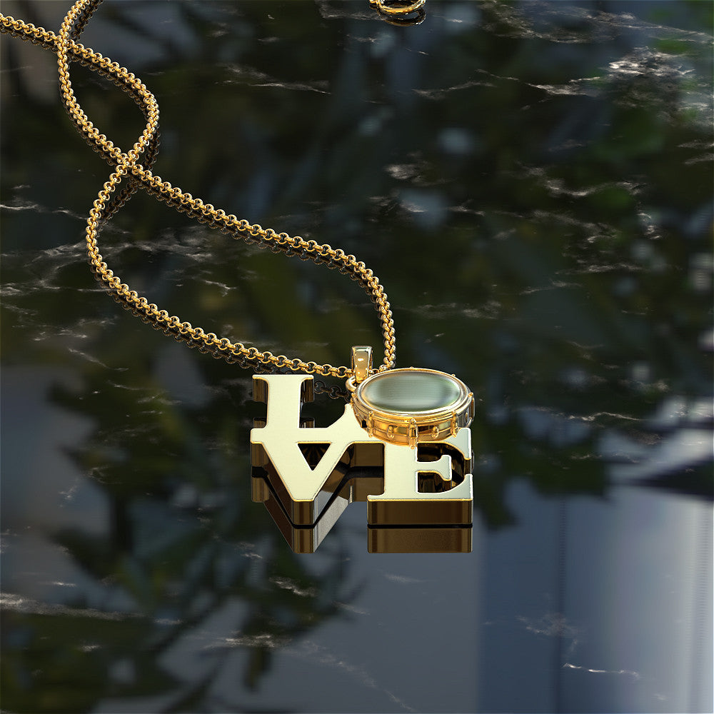 Love Drums Necklace