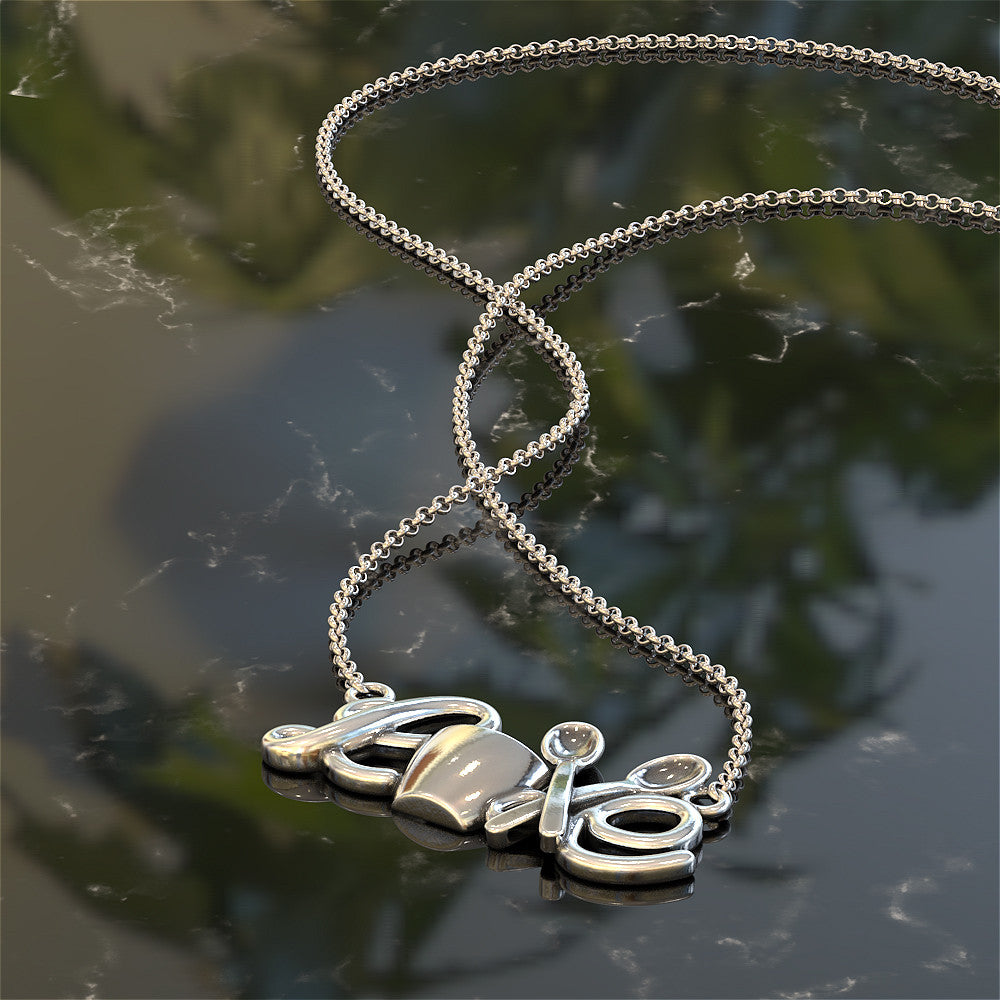 Coffee Love Necklace