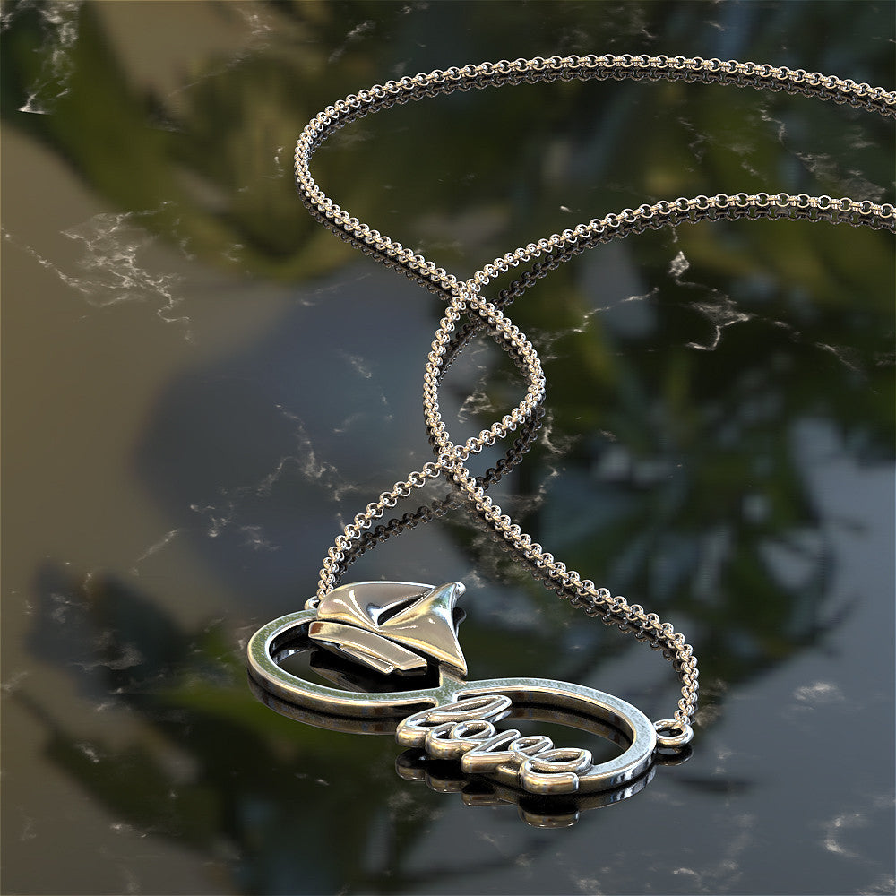 Infinity Sailing Love Necklace