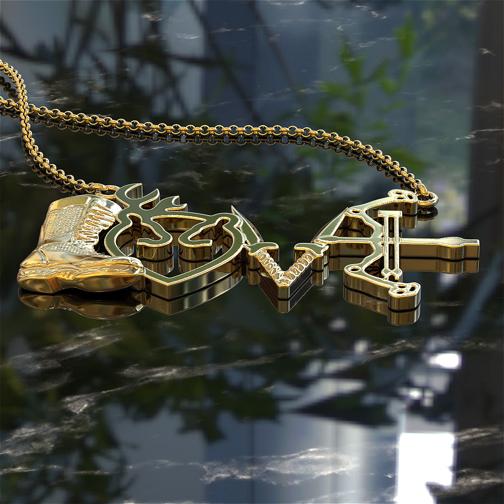 Love Bowhunting Pendant - LIMITED RELEASE