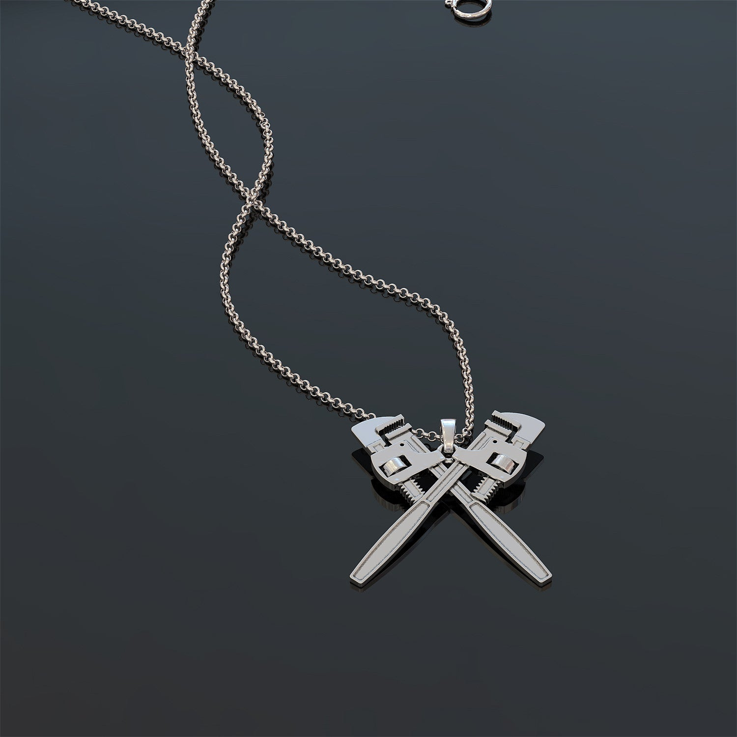 Pipefitter Wife Necklace