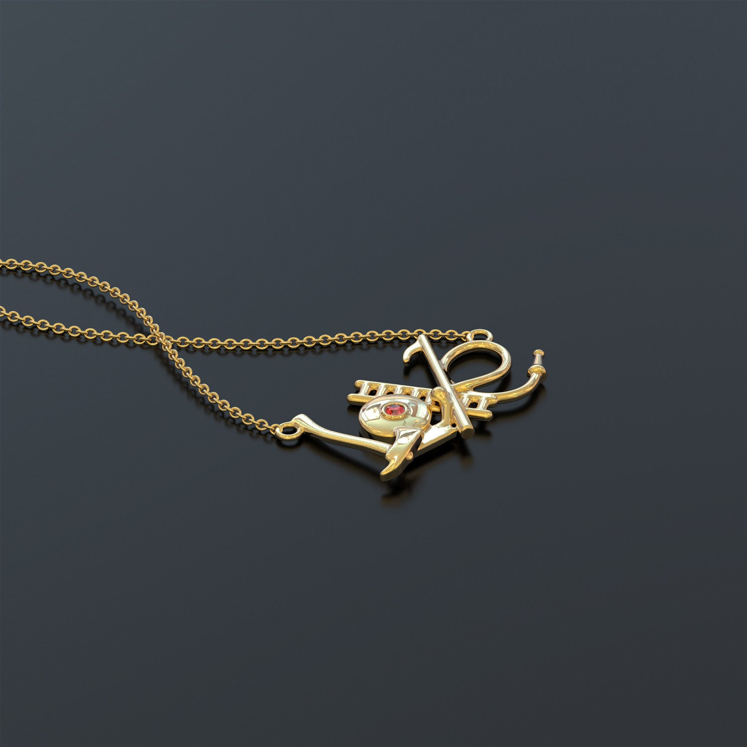 Firefighter's Love Necklace