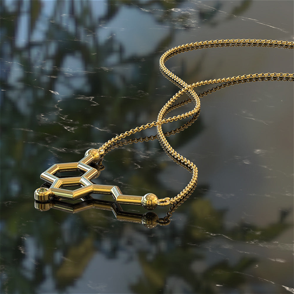 Serotonin (LOVE) Necklace