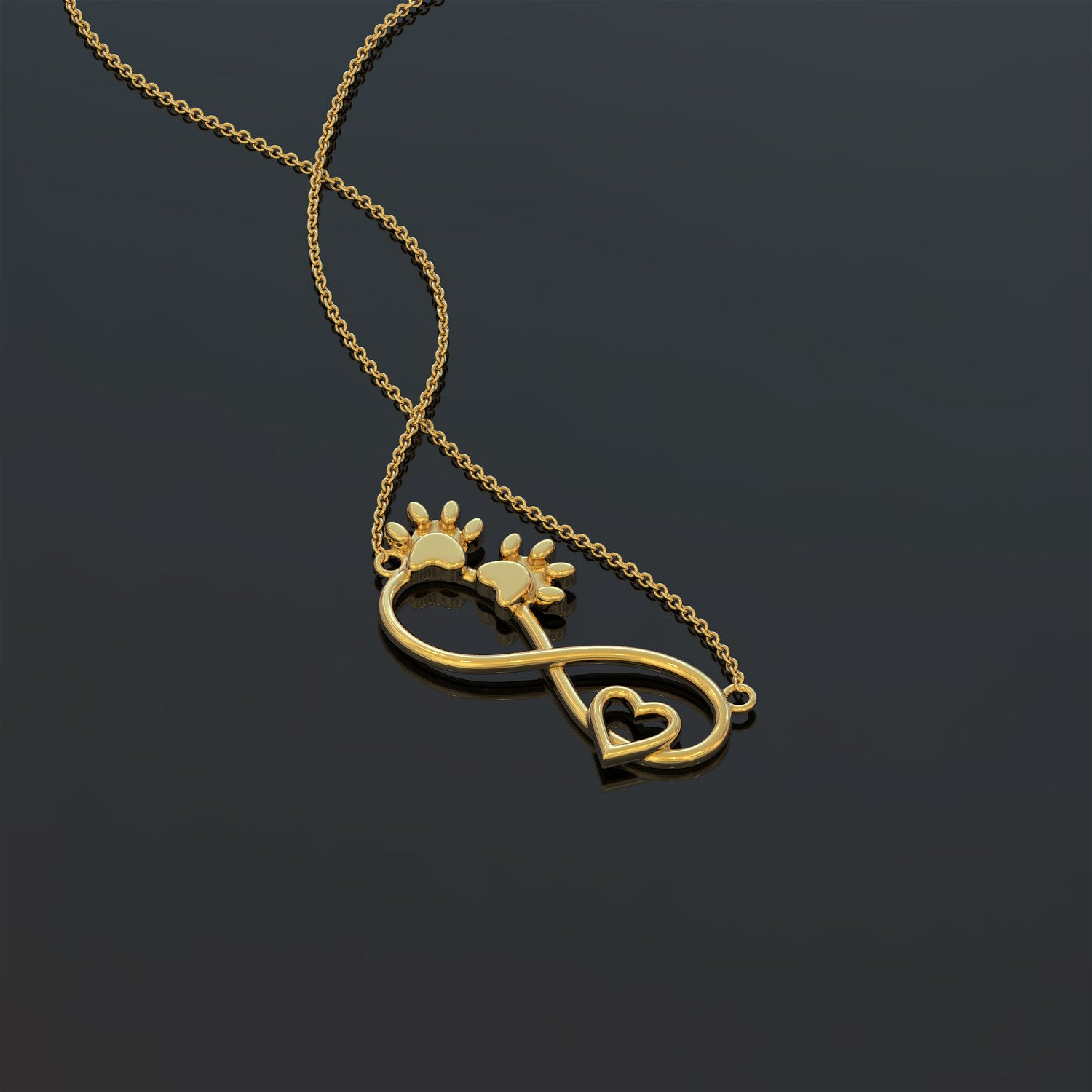Dogfinity Pendant Necklace