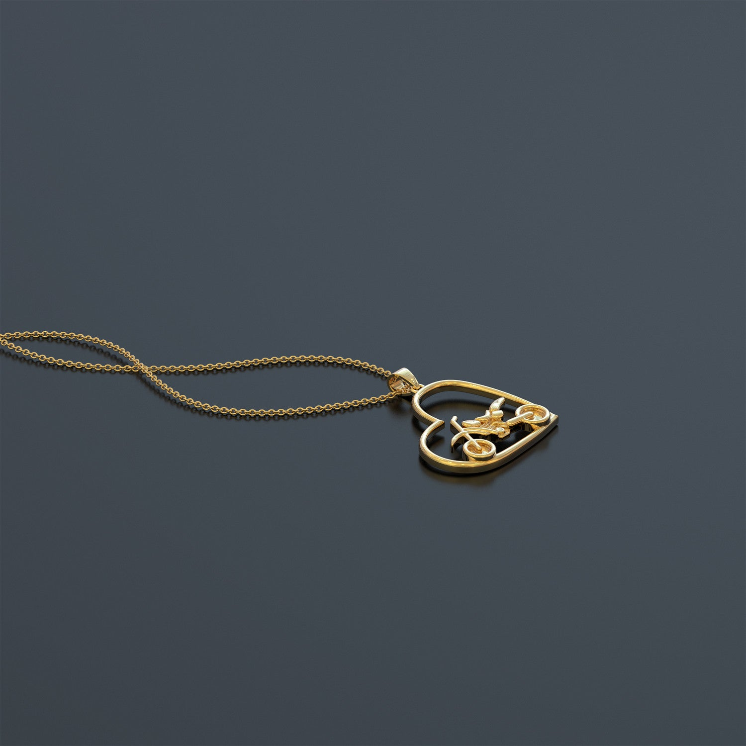 MOTO X - Heart Necklace