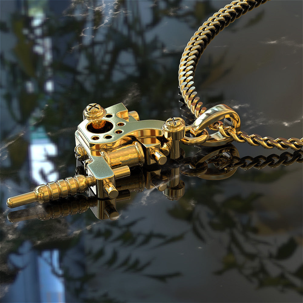 Tattoo Gun Necklace - STRICTLY LIMITED EDITION