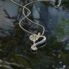 LOVE - Tennis Necklace - STRICTLY LIMITED EDITION