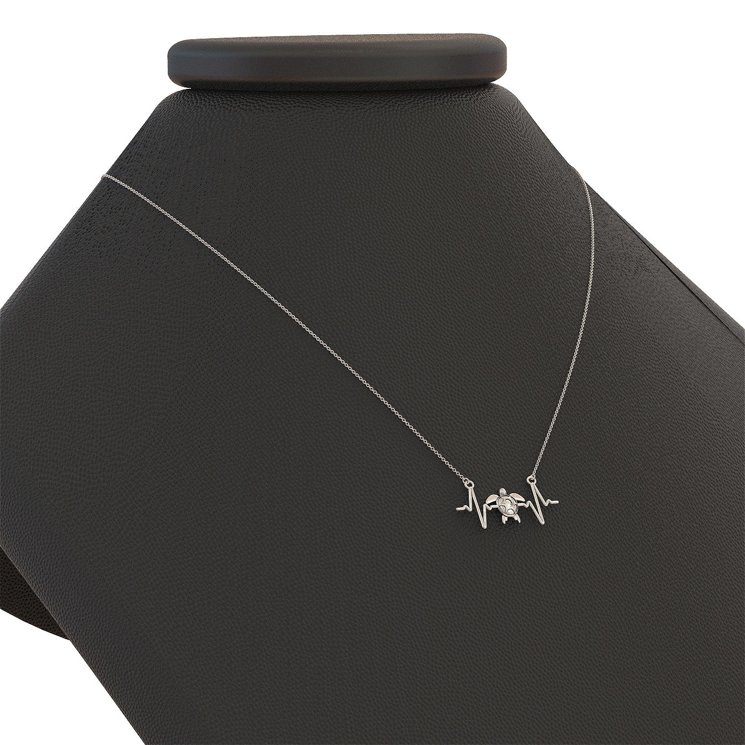 Turtle Heartbeat Necklace