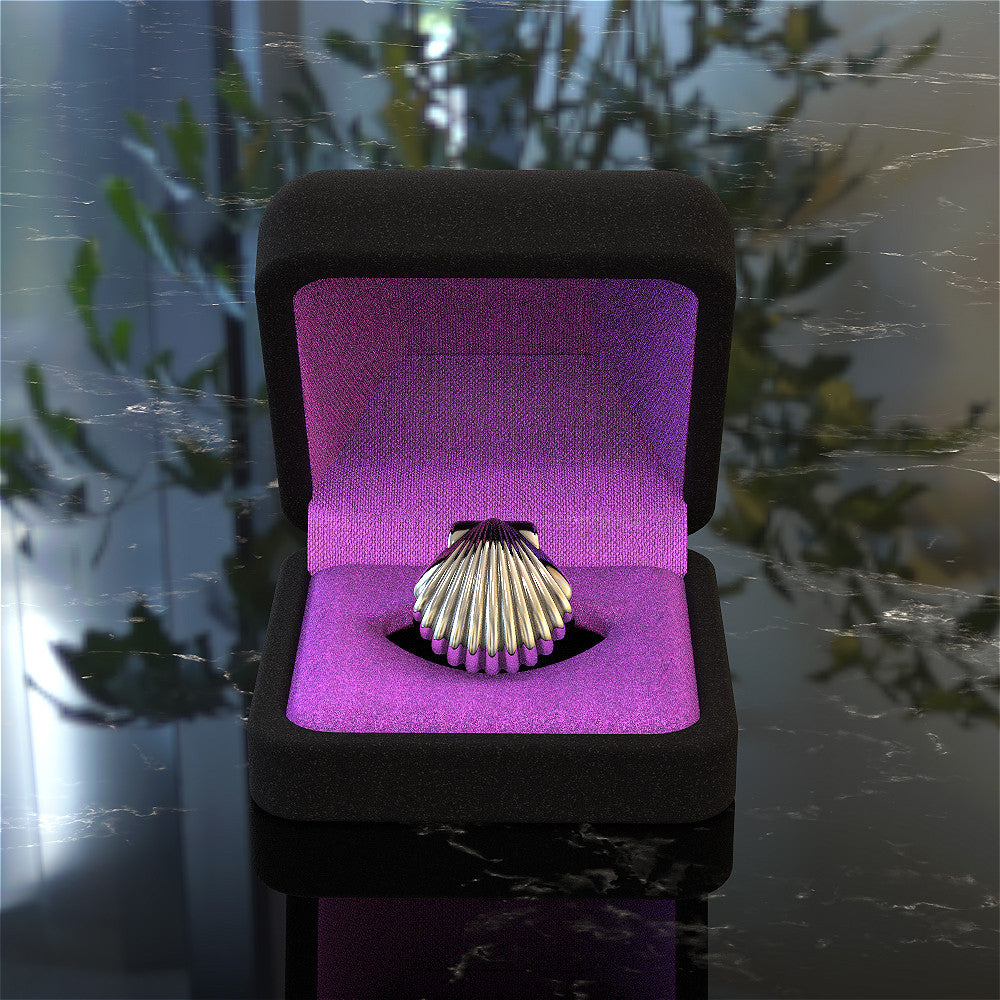 Mermaid Shell Ring