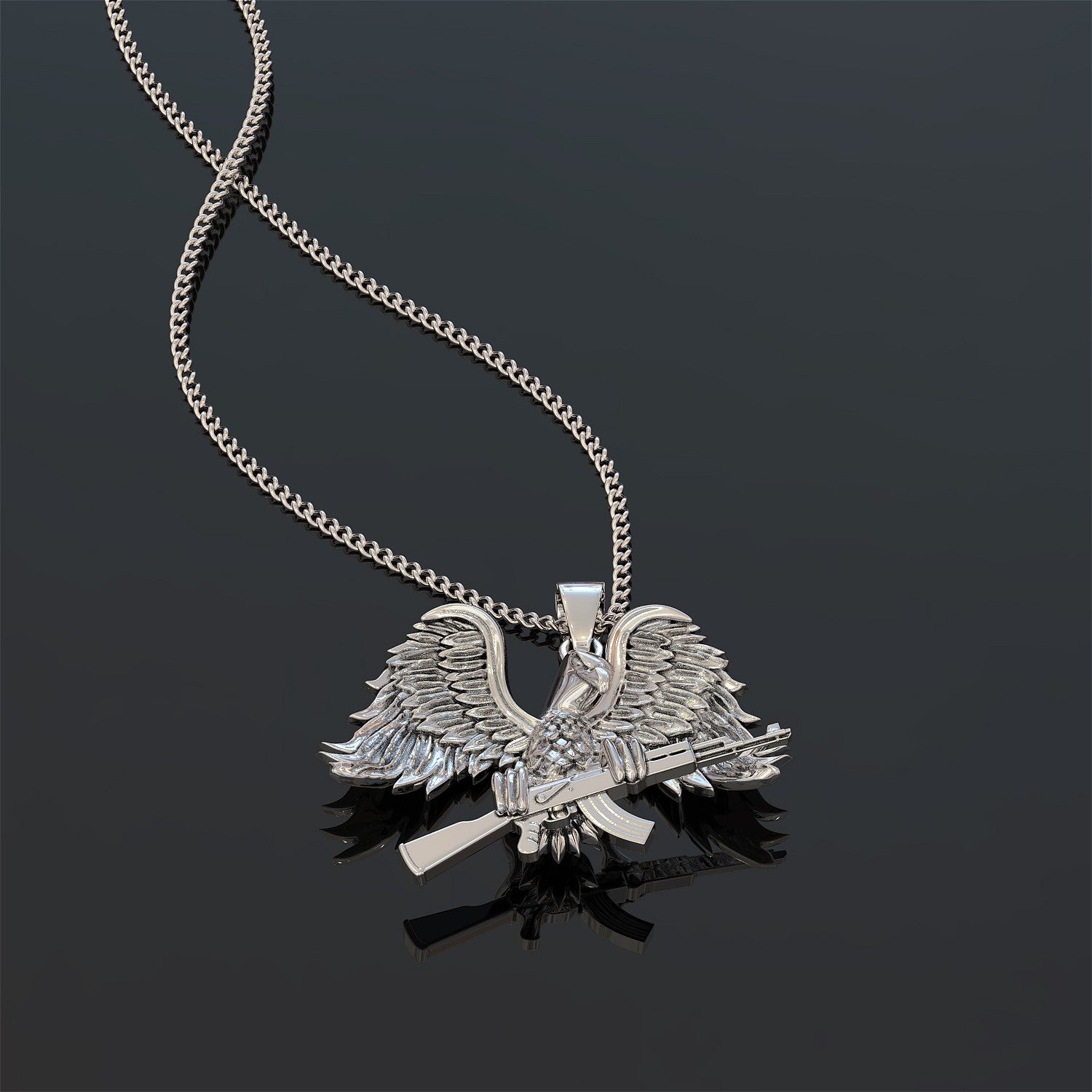 American Freedom Fighter Necklace - LIMITED EDITION